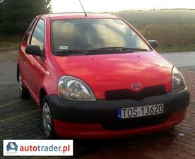 Toyota Yaris 1.0 2002 r.,   9 500 PLN