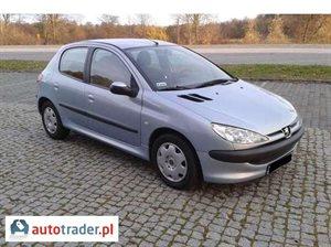 Peugeot 206 2.0 2003 r.,   7 600 PLN