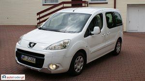 Peugeot Partner 1.6 2010 r.,   26 800 PLN