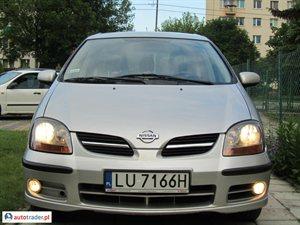 Nissan Almera Tino 2.2 2002 r. - zobacz ofertę