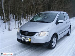 Volkswagen Fox 1.4 2005 r. - zobacz ofertę