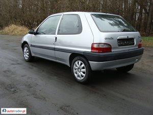 Citroen Saxo 2002 1.1 60 KM