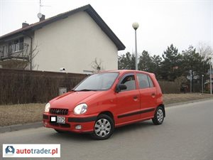 Hyundai Atos 1.0 2001 r. - zobacz ofertę