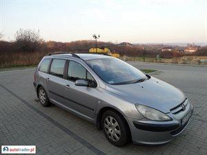 Peugeot 307 2.0 2002 r. - zobacz ofertę