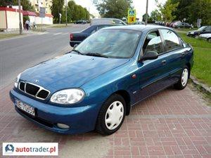 Daewoo Lanos 1.5 2000 r. - zobacz ofertę