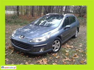 Peugeot 407 1.6 2007 r.,   12 200 PLN