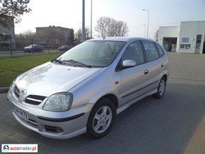 Nissan Almera Tino 2.2 2004 r. - zobacz ofertę