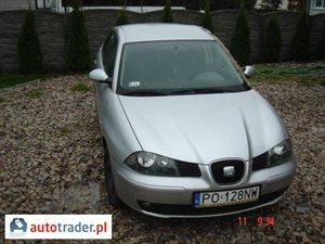 Seat Ibiza 1.4 2005 r.,   8 500 PLN