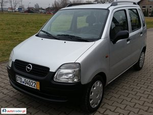 Opel Agila, 2001r. - zobacz ofertę