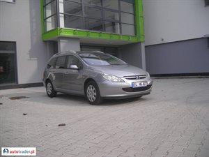 Peugeot 307 1.6 2002 r. - zobacz ofertę