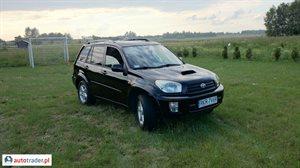 Toyota RAV-4 2.0 2003 r.,   21 900 PLN
