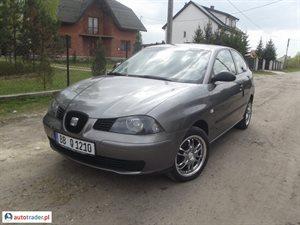 Seat Ibiza 1.2 2003 r.,   7 900 PLN