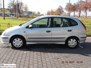Nissan Almera Tino 2.2 2005 r. - zobacz ofertę