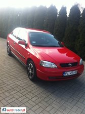 Opel Astra 1.6 1999 r.,   5 999 PLN