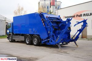 Scania P320 śmieciarka Zoeller MXL 24m3 KP7 z WAGĄ - zobacz ofertę