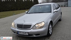 Mercedes S-klasa S 320 3.2 2000 r.,   18 500 PLN