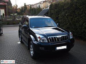 Toyota Land Cruiser 3.0 2008 r. - zobacz ofertę