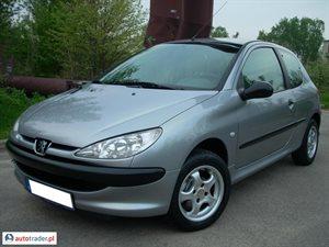 Peugeot 206 1.1 2003 r. - zobacz ofertę