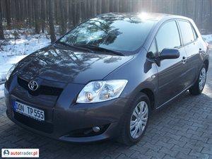 Toyota Auris, 2008r.,   27 700 PLN