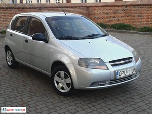 Chevrolet Aveo, 2008r.,   10 900 PLN