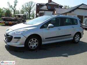 Peugeot 308 1.6 2009 r. - zobacz ofertę