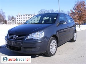 Volkswagen Polo 1.2 2007 r.,   18 500 PLN