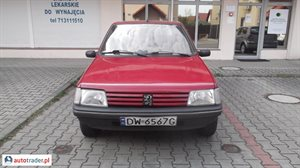 Peugeot 205 1.1 1996 r. - zobacz ofertę