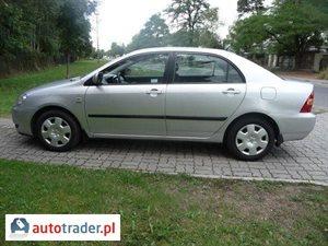 Toyota Corolla 1.6 2004 r. - zobacz ofertę