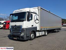 Mercedes ACTROS 1845 E6 MP4 + Mega Firana Kogel 2015r Zestaw Low Deck - zobacz ofertę