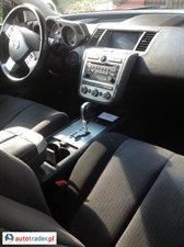 Nissan Murano 2007 3.5 240 KM