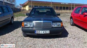 Mercedes W-201 (190) 1.8 1991 r. - zobacz ofertę