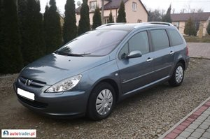 Peugeot 307 1.6 2005 r. - zobacz ofertę