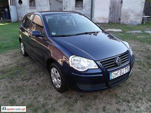Volkswagen Polo 1.2 2005 r.,   17 599 PLN