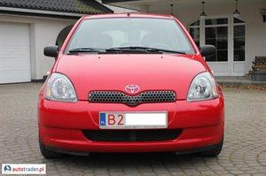 Toyota Yaris 1.0 2001 r. - zobacz ofertę