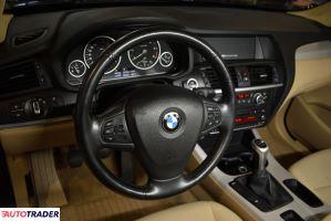 BMW X3 2011 2.0 184 KM