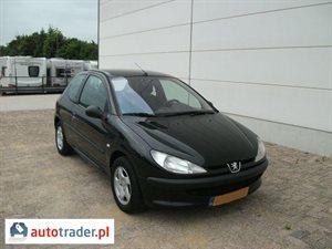Peugeot 206 1.4 2002 r. - zobacz ofertę