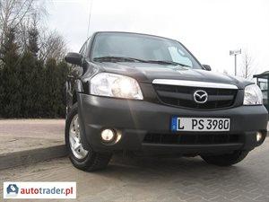 Mazda Tribute 2001 2 125 KM