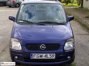 Opel Agila 1.0 2001 r. - zobacz ofertę