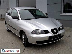 Seat Ibiza 2004 r.,   9 900 PLN