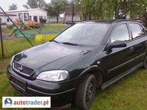 Opel Astra 1.6 1998 r.,   4 300 PLN