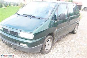 Fiat Ulysse 1.9 1998 r. - zobacz ofertę
