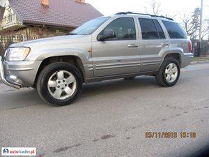 Jeep Grand Cherokee 2001 3.1 140 KM