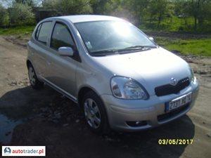 Toyota Yaris 1.3 2005 r. - zobacz ofertę