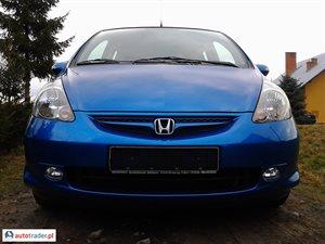 Honda Jazz 1.3 2007 r.,   22 990 PLN