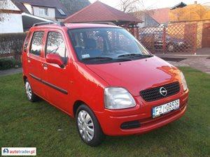 Opel Agila, 2000r. - zobacz ofertę