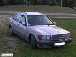 Mercedes W-201 (190) 2.0 1993 r. - zobacz ofertę