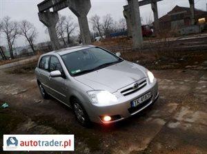 Toyota Corolla 2.0 2005 r. - zobacz ofertę
