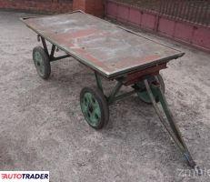 Wózek transportowy platformowy czterokołowy 90x179 cm - zobacz ofertę