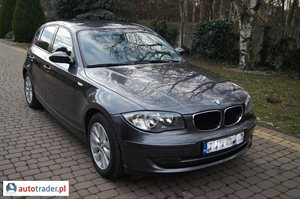 BMW 120, 2007r.,   29 000 PLN