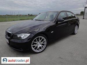 BMW 320 2.0 2007 r.,   35 300 PLN